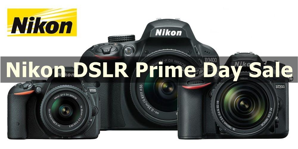 Best Nikon DSLR Prime Day Sale & Deals