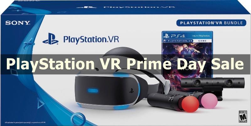Best PlayStation VR Prime Day Sale & Deals