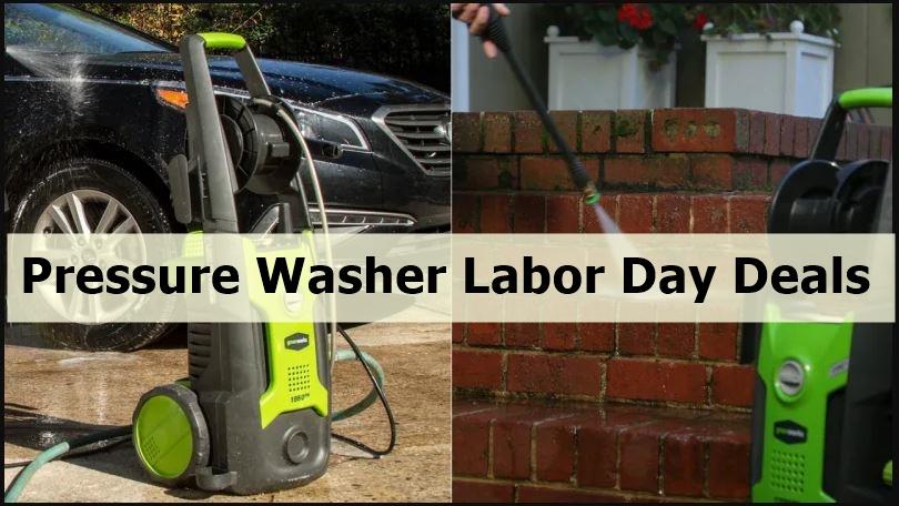 Pressure Washer Labor Day Deals