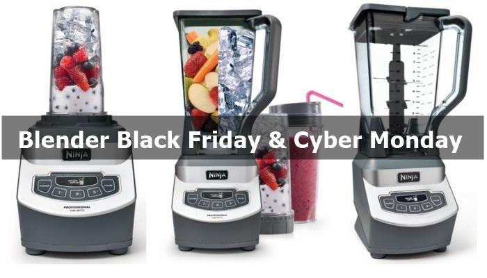 Best Blender Black Friday & Cyber Monday Deals 2019