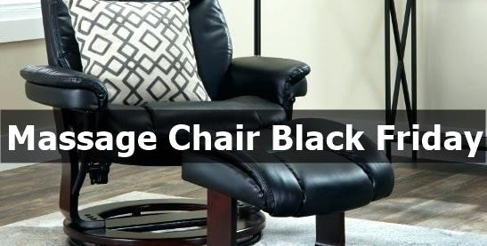 Best Massage Chair Black Friday & Cyber Monday Deals 2021