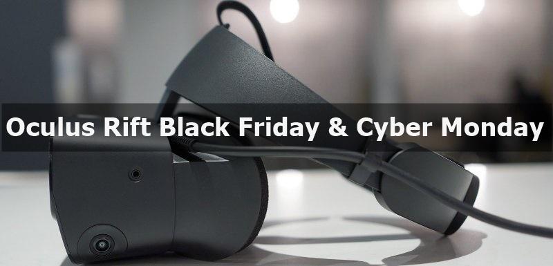 Best Oculus Rift Black Friday & Cyber Monday Deals 2020