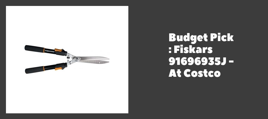 Budget Pick : Fiskars 91696935J - At Costco