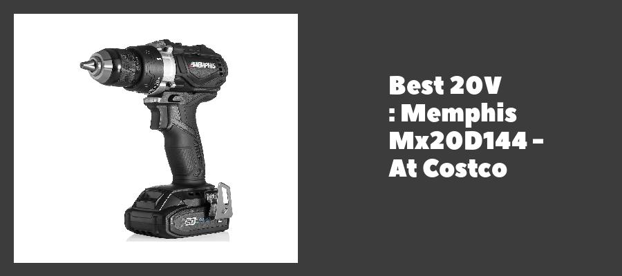 Best 20V : Memphis Mx20D144 - At Costco