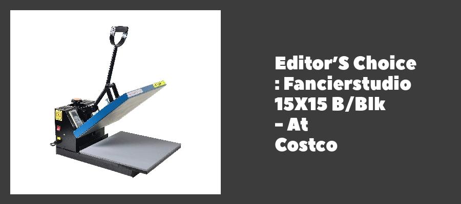Editor'S Choice : Fancierstudio 15X15 B/Blk - At Costco